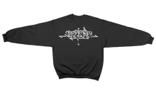 Load image into Gallery viewer, 'Cryptik X Bei Ru' Crewneck Sweatshirt (Black)