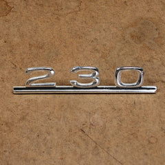 Mercedes Benz 230 trunk emblem