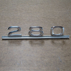 Mercedes Benz 280 TRUNK EMBLEM