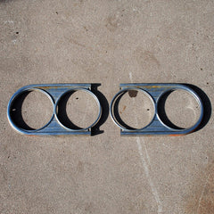 Datsun 410 411 64 65 66 67 headlight bezels