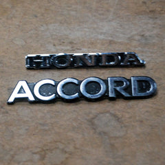 Honda Accord 76 77 78 79 80 81 emblems