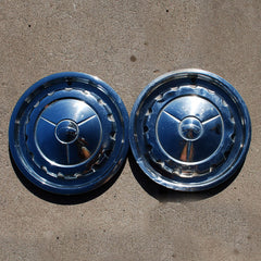 Chevrolet Belair Nomad hubcaps 1957 only