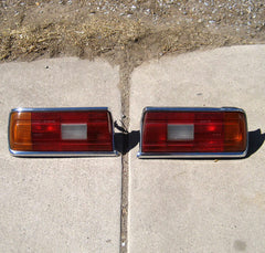 BMW 528i 530i E12 tail lights set 77 78 79 80 81 NICE