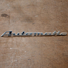 BMW 2000C 2000CS 65 66 67 68 69 Automatic trunk emblem