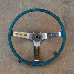 AMC Javelin AMX SST Rally steering wheel blue 71 72 73 74