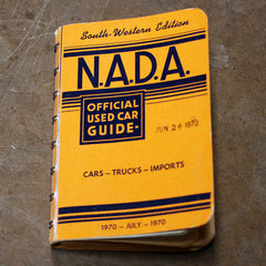 NADA South Western Edition July 1970 Official used car guide