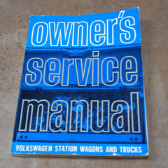 Volkswagen Station Wagons and Trucks Service Manual 1965 RARE
