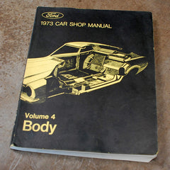 Ford Dealer Body Shop Manual Volume 4 1973