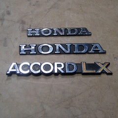 Honda Accord LX 76 77 78 79 80 emblems