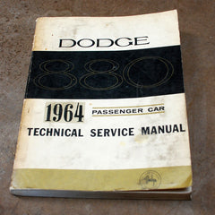 Dodge 880 Technical Dealer service manual 1964