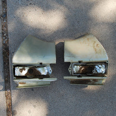 Chevrolet Malibu Chevelle Rear corners tail 68 1968