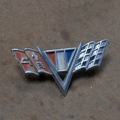 Chevrolet GM 65 66 67 flags emblem fender IMPALA NOVA