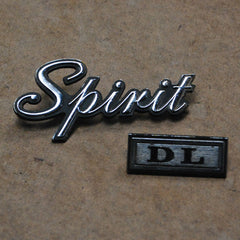 AMC Spirit DL Trunk Emblems 78 79 80 81 82