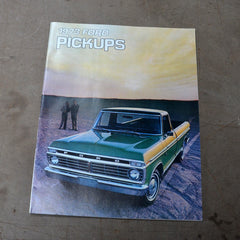 1973 Ford Pickup Dealer Sales Brochure