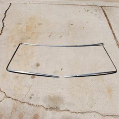 Datsun 411 65 66 67 windshield chrome trim