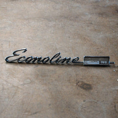 Ford Econoline 68 69 70 71 72 73 74 Custom 100 emblem script badge