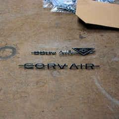 Chevrolet Corvair 63 1963 emblems