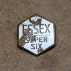 Essex Super six grille badge rare 1916 1917 1918 1919