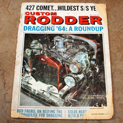 Custom Rodders Magazine July 1964