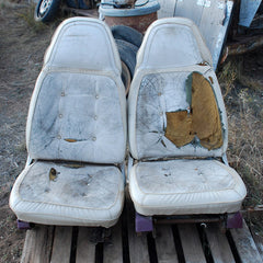 Chrysler Cordoba Dodge Charger Leather Bucket Seats 72 73 74 75 76 77