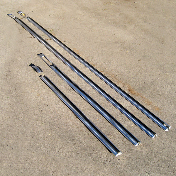 Ford F150 F250 long bed Side trim 73 74 75 76 77 78 79 ...