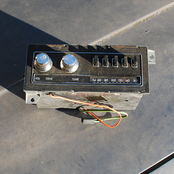 Dodge Aspen Charger Plymouth Volare Fury AM Radio 75 76 77