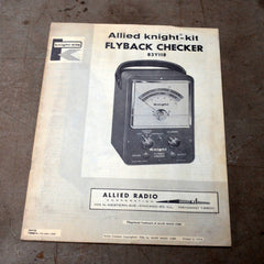 Allied Knight Kit Flyback Checker 83Y118 Manual
