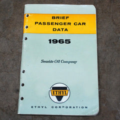 Ethyl Corporation Car specs 1965