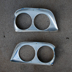Ford Fairlane 500 Galaxie 59 headlight bezels