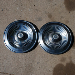 "Dodge Coronet 14"" hubcaps 1965 only"
