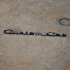 Ford Truck Custom Cab 64 65 66 door emblem