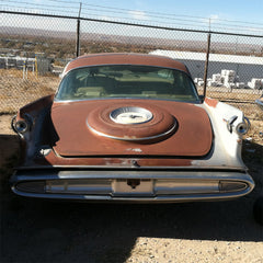 Imperial Crown Lebaron Complete Rear Bumper 1959only
