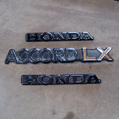 Honda Accord LX CVCC 76 77 78 79 80 81 emblems