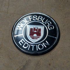 VW Volkswagen Wolfsburg edition fender emblem Jeffa Golf