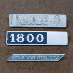 Lancia Beta Berlina emblems 72 73 74 75 76 77 78 79 80