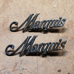 Mercury Marquis 73 74 1973 1974 fender emblems