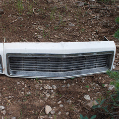 Dodge Polara police car header panel grille grill 73