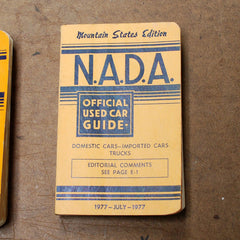 NADA N.A.D.A 77 1977 July official used car guide