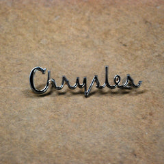 Chrysler New Yorker Newport 61 62 rear tail panel emblem