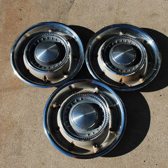 "Chrysler New Yorker 300 15"" hubcaps 1969 only"