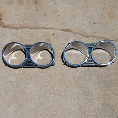 Chrysler Newport Newyorker headlight bezels 67 68