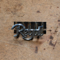 Buick Regal fender emblem 78 79 80 81