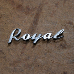 Dodge Royal 55 56 glovebox emblem
