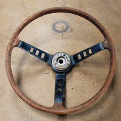 Datsun 1970 1971 1972 1973 240Z 240 setting wheel Wooden Vintage