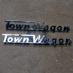 Dodge Town Wagon rear quarter panel emblem 57 58 59 60 61 62 63 64