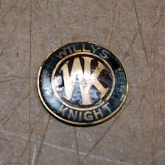 Willys Knight grille badge emblem 1925 1926 1927