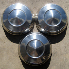 "Dodge Dart Polara 10"" dog dish hubcaps 1960's"