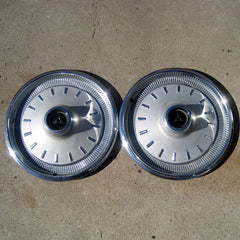 "Dodge Coronet Charger 14"" hubcaps 1966 only"