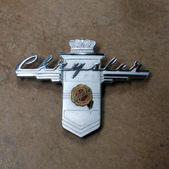 Chrysler New Yorker Windsor Highlander Trunk Emblem 41 42