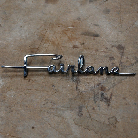 Ford Fairlane Trunk emblem 1964 only